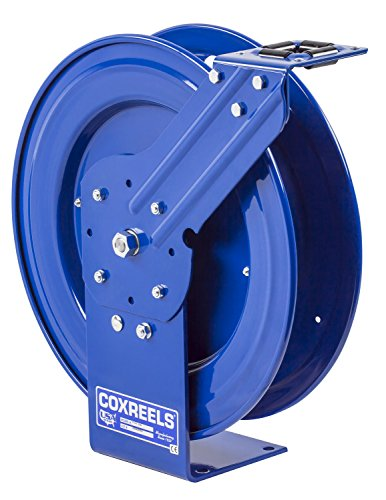 "Coxreels P-LPL-315 Low Pressure Retractable Air/Water/Oil Hose Reel: 3/8"" I.D, 15"