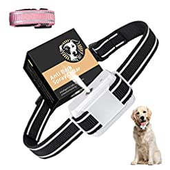 SOYAO Anti Barking Dog Collars, Automatic Bark Collar with Citronella Spray, Barking Collar with Adjustable Sensitivity… Health and Household
