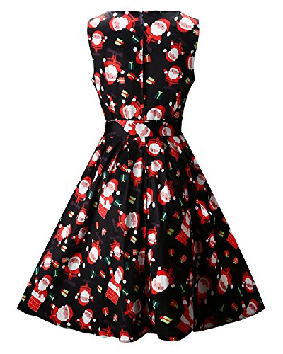 Ouges women s christmas gifts fit and flare cocktail dress