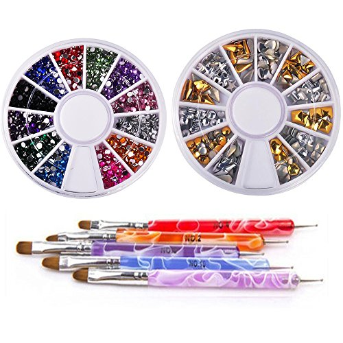 nail polish basic colors set - 8