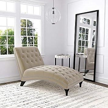 ursula fabric chaise lounge oatmeal