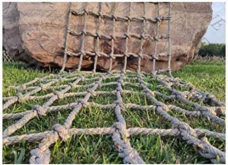 Net Hammock Swing,Cargo Net Climbing Climb Netting Kids Outdoor Nets Adults Rope Playground Heavy Duty Hammock Swings Playset Frame Rock Adult Play Sets Playsets Children Indoor Tree Treehouse Nylon