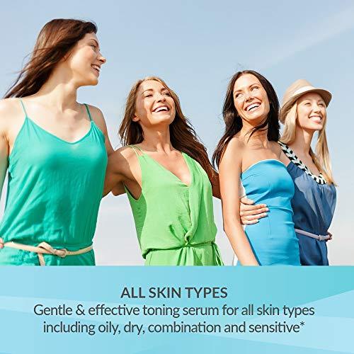 51b4QtQvYKL - Revive Science Balance + Tone Skin Serum, Anti Aging Dark Spot Corrector Face Cream to Smooth & Lighten Skin, Fade Scars, Remove Age Spots & Brighten Glow for Men & Women, 1 oz