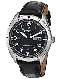 Seiko Men's SRP715 Analog Display Japanese Automatic Black Watch