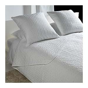 Amazon.com: IKEA ALINA – Colcha y 2 fundas de cojín, blanco ...