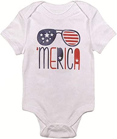 Bowling Flag Newborn Girls /& Boys Short Sleeve Romper Bodysuit Tops 0-24 Months