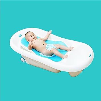 LPYMX,Bañera Acolchada La Madre Perezosa bebé bañera bebé recién ...