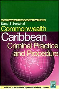 Book Commonwealth Caribbean Series: Criminal Practice and Procedure