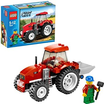 Lego Jeu Le De Tracteur City Construction 7634 RqL3A54j