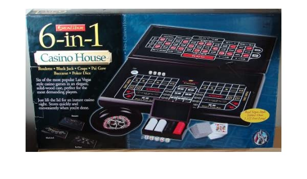 excalibur 6 in 1 casino house