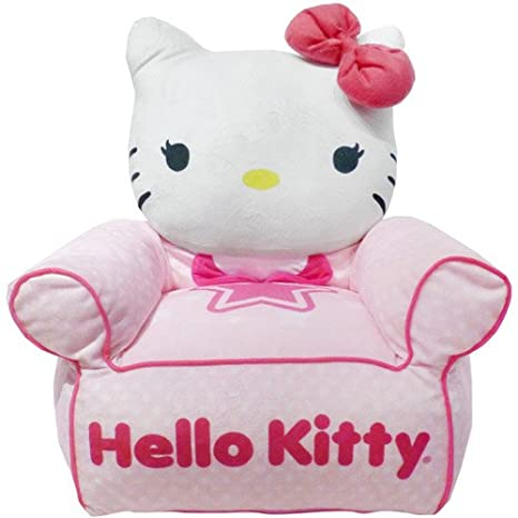 Amazoncom Hello Kitty Figural Bean Bag Chair Kitchen Dining