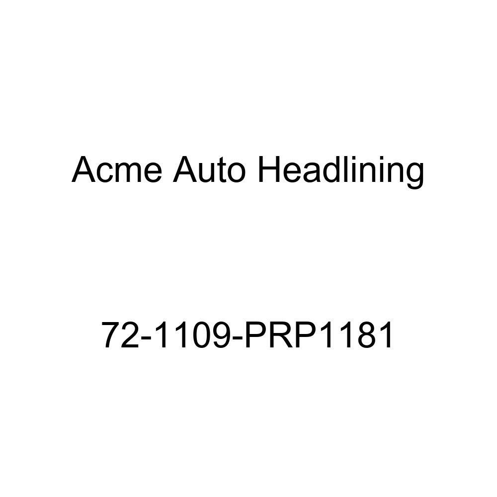 5 Bow 1972 Buick Centurion 2 Door Hardtop Acme Auto Headlining 72-1109-PRP1181 White Replacement Headliner