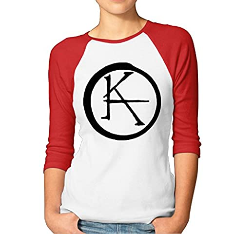 Kim Lennon Dark Tower Women Custom Raglan Tshirt Red XXL - Custom Raglan T-shirts