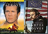 Dances With Wolves (25th Anniversary Edition) + The Patriot Special DVD 2 Pack Epic Movie Action Set