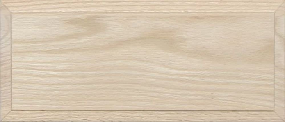 Unfinished Oak Flat Drawer Front with Edge Detail by Kendor 6H x 10W