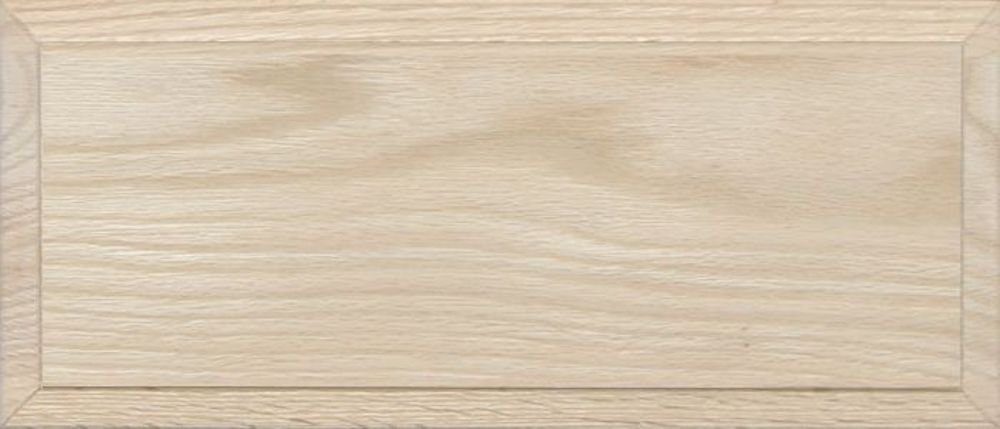 Unfinished Oak Flat Drawer Front with Edge Detail by Kendor, 6H x 14W