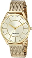 Nine West NW1922CHGB Reloj de Diseñador para Mujer