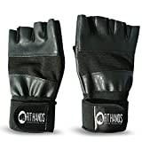 Fit-Hands-Weight-Lifting-Gloves-with-Grip-Wrist-Wrap-100-GUARANTEED-Support-Powerlifting-Weightlifting-Gym-Workout-Crossfit-Cross-Training-Special-Padding-to-Avoid-Calluses-For-Men-Women