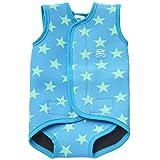 Splash About Baby Wrap Neoprene Wetsuit - Blue Stars, Medium, 6-18 Months by Splash About