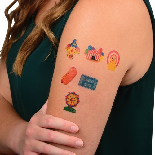 DollarItemDirect CARNIVAL TATTOOS, SOLD BY 15 GROSSES