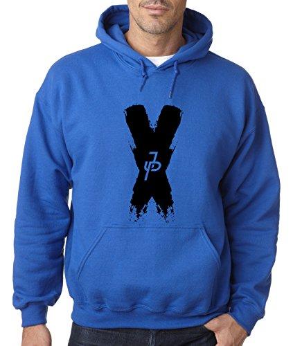 New Way 821 - Adult Hoodie Jake Paul X Team 10 Unisex Pullover Sweatshirt Medium Royal Blue (Adult Hoody)