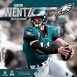 Lang Companies Inc Philadelphia Eagles 12 x 12 Inch Carson Wentz Wall Calendar 2019