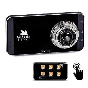FalconZero Dash Cam 1080P 170° Viewing Angle ~ microSD Included