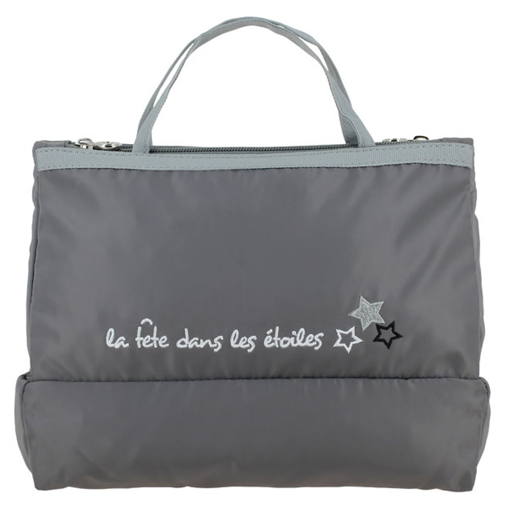 Tintamar Woman's toilet bag with inscription EASY TRAVEL VANITY VOYAGE CHIC Grey Women Summer Collection 2018