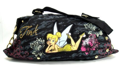Disney Tinker Bell Large Satchel Tote Bag - Tattoo]()