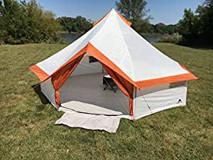 amazon com fast and easy to set up ozark trail 8 person yurt tent