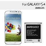 MODOCEE 2600mah 3.8V Li-ion Battery for Samsung Galaxy S4