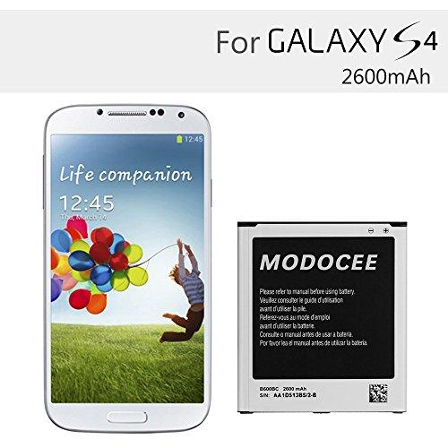 MODOCEE 2600mah 3 8V Li-ion Battery for Samsung Galaxy S4