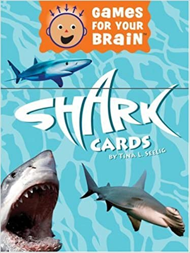 games for your brain shark cards tina l seelig  games for your brain shark cards tina l seelig 9780811857727 com books