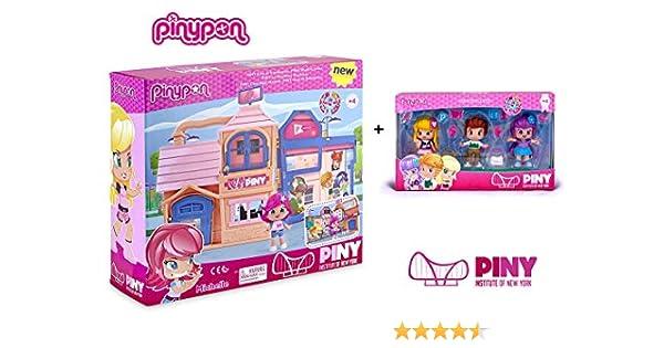 Famosa PinyPon - Pack Pinypon Casa Estudiantes con Michelle ...