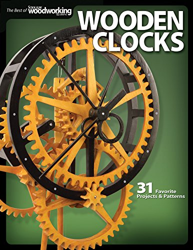 Wooden Clocks: 31 Favorite Projects & Patterns (Scroll Saw Woodworking & Crafts Book) [Editors of Scroll Saw Woodworking & Crafts] (Tapa Blanda)