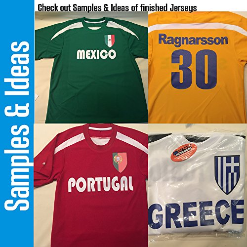 82105c261 Hardkor Sports Customized Ireland Soccer Jersey Adult 2X-Large in Dark  Green and White