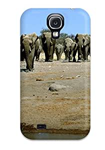 XYwurfk8964NlKIq Tpu Case Skin Protector For Galaxy S4 Elephant With Nice Appearance