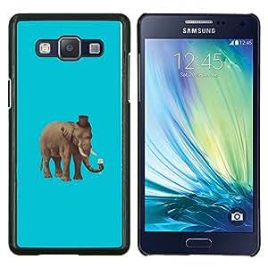- Hipster Elephant For Samsung Galaxy A5 A5000 A5009 Duro Snap en el tel???¡¯???€????€?????fono celular de la cubierta @ Cat Family