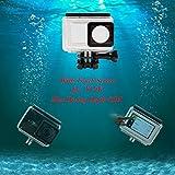ADIKA Waterproof Housing with Touch Screen 45m Diving Depth for Xiaomi Yi 4K Sport Camera