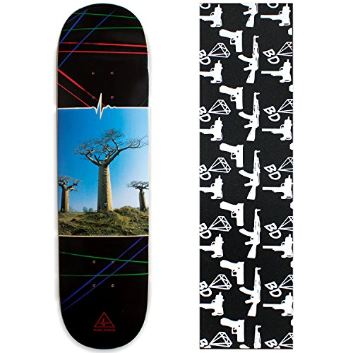 HABITAT PINK FLOYD Skateboard Deck DELICATE BEAUBUB TREE 8.125