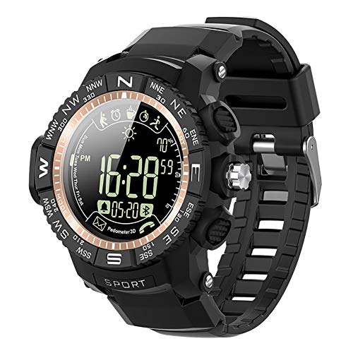 Enjoyment Sports Smart Watch IP68 Waterproof Weather Drinking Water Sedentary Monitoring Reminder Remote Camera Information Health Management Pedometer Alarm Android iOS (Best Sports Management Games Ios)