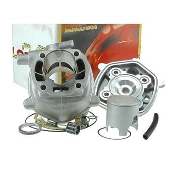 Cilindro Kit Malossi Mhr Team T6 - 70 ccm/12 mm - Yamaha Jog RR 50 Lc (Agua) tipo: SA22: Amazon.es: Coche y moto