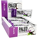 Paleo Protein Bar, Coconut Cream, Pack of 24 (12 x 2 cases), 2.21 oz (62.7g)