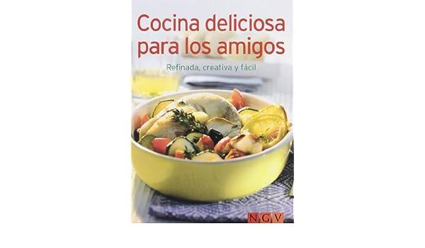 COCINA DELICIOSA PARA LOS AMIGOS.(MINILIBRO): VARIOS(002123): 9783625002154: Amazon.com: Books
