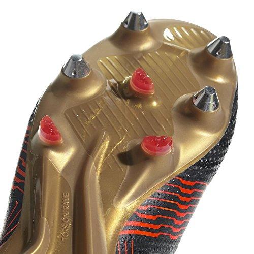 Adidas nemeziz 17.1SG Chaussures de crampons de football (SG) de Messieurs-cblack/cblack/solred, 10.5