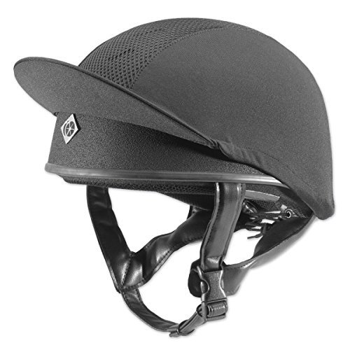 Charles Owen Pro 2 Skull Caps - All Colours Black 2 1/2 - 58 by Charles Owen ()