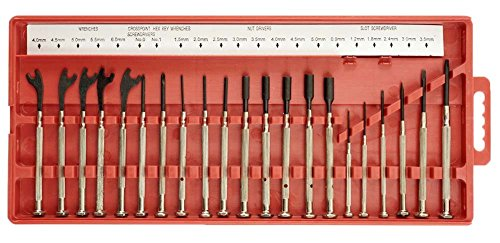 21 Piece Screwdriver Set (MAGNETIC PRECISION SCREWDRIVER 21-PIECE SET)