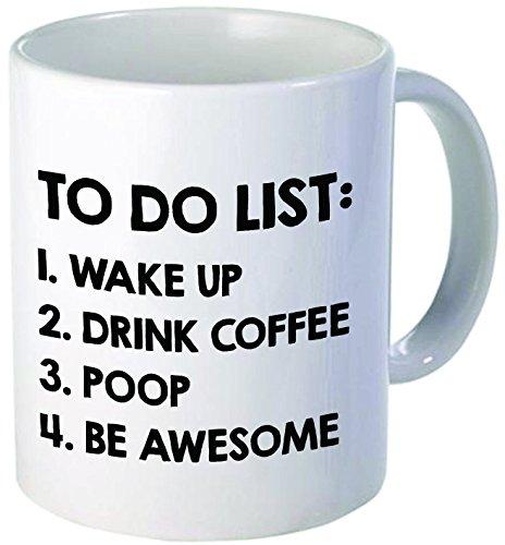 Willcallyou Coffee Mug, To do list, 11 oz.