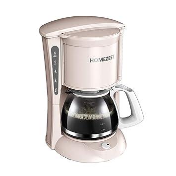 Tipo Automático Del Goteo De La Máquina Del Café Del Hogar Con El Alto Pote Del Vidrio De Borosilicate (color : Pink): Amazon.es: Hogar