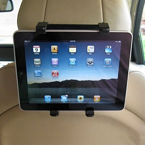 Car Seat Back Headrest Mount Holder Expandable Cradle Base Travel Kit for Verizon Verizon Ellipsis 7 - Verizon Verizon Ellipsis 8 by DNRPrime (Image #2)